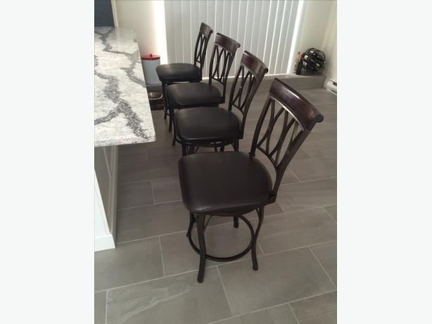 4 Swivel Base Kitchen Bar Stools Victoria City Victoria