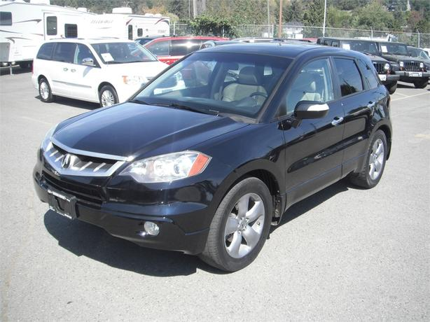 2007 acura rdx turbo awd w technology package outside comox valley courtenay comox. Black Bedroom Furniture Sets. Home Design Ideas