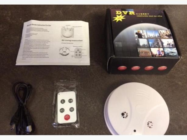New hidden camera built into a smoke detector appearance