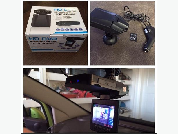 New car dash cam with monitor