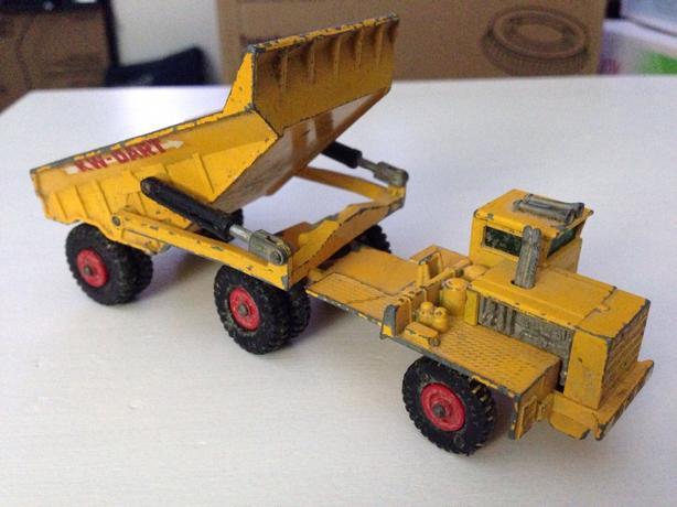 Lesney Matchbox King Size K 2 Kw Dart Dump Truck Victoria City Victoria