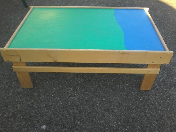 wooden playtable