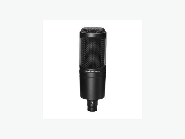 audio technica at2020 xlr microphone and onstage desktop mic stand victoria city victoria. Black Bedroom Furniture Sets. Home Design Ideas