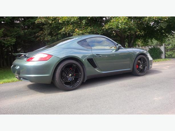 Porsche Cayman S, babied and mint, awesome machine