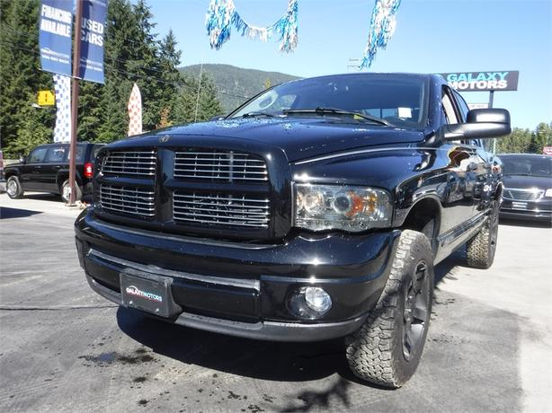 2004 Ram 1500 SLT Quad 5.7L V8 HEMI Regular Box - 4WD