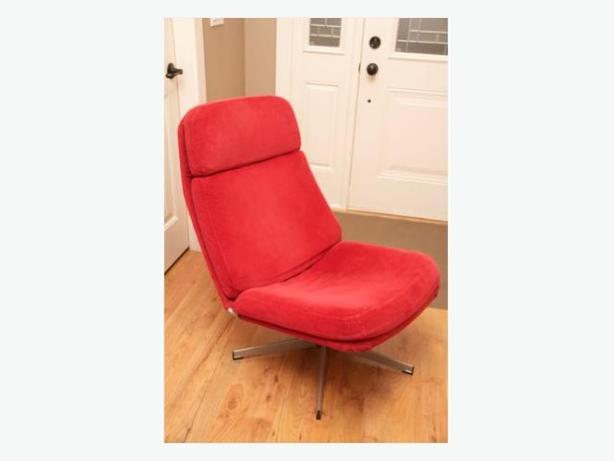ikea red lunna chair victoria city victoria. Black Bedroom Furniture Sets. Home Design Ideas