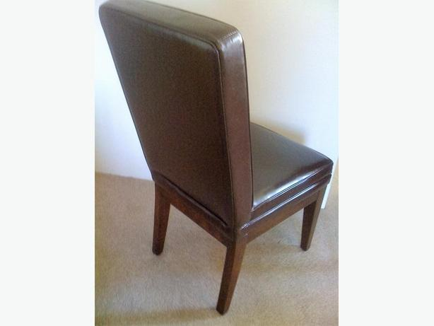 High back parsons chair bonded leather excellent for High back parsons chair