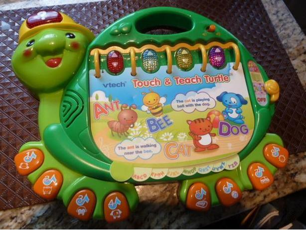 VTech Touch and Teach Turtle