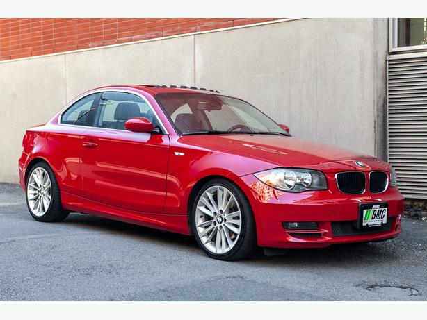 2008 bmw 1 series 128i coupe in crimson red outside victoria victoria. Black Bedroom Furniture Sets. Home Design Ideas