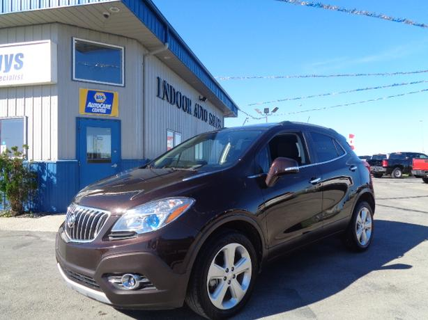 2015 Buick Encore #I5110 INDOOR AUTO SALES WINNIPEG