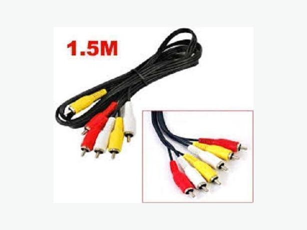 Composite YWR A/V Cable 5FT 1.5 Meter