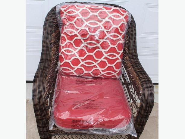Patio armchair cushion coussins pour chaise jardin - Coussin pour chaise ...