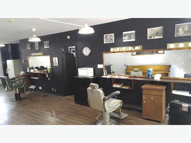 Classic barbershop/salon barbier
