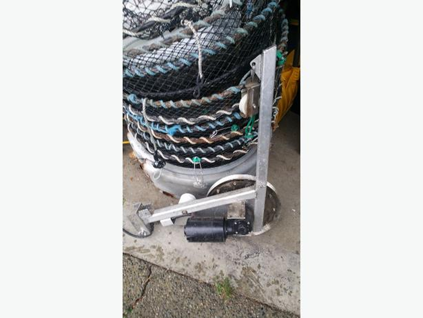 Gear Puller Toronto : Prawn trap puller commercial traps lead line