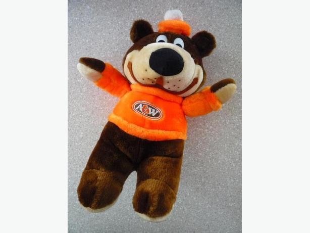 Classic A & W Teddy Bear