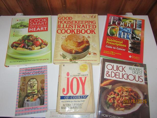 Lot of Cookbooks!!