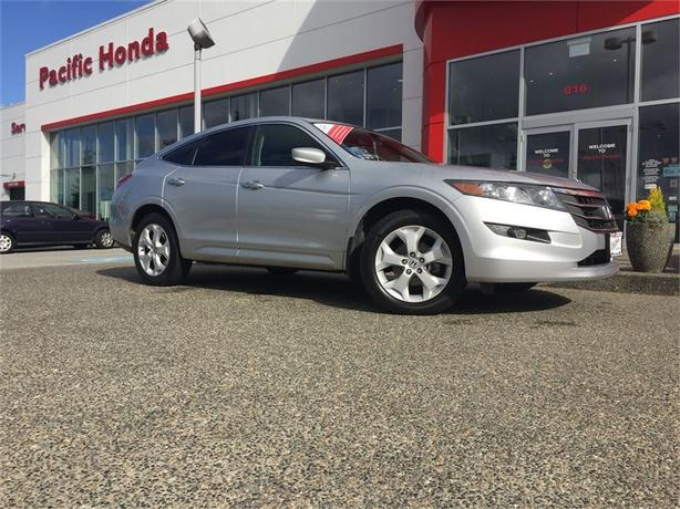 2012 Honda Crosstour local 1 owner with zero (0) icbc claims
