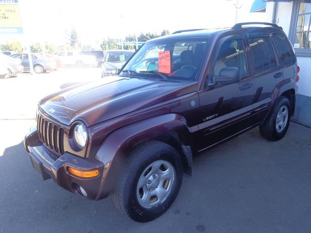 2004 jeep liberty 4x4 limited