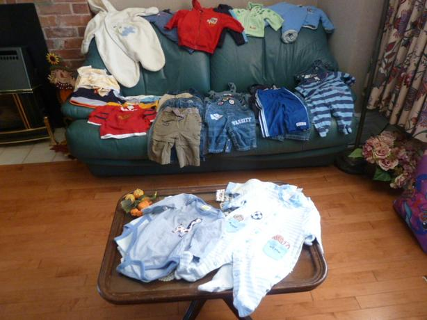 Fall & Winter Boy's wardrobe 0-3 Months
