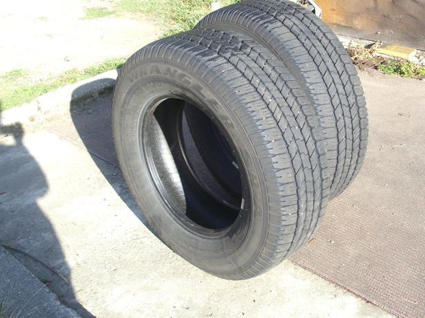2 Good Year Wrangler Tires