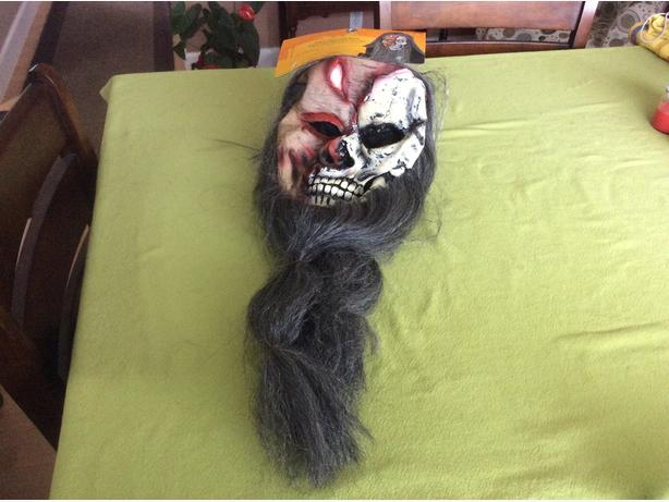 scary Halloween mask .. never been used