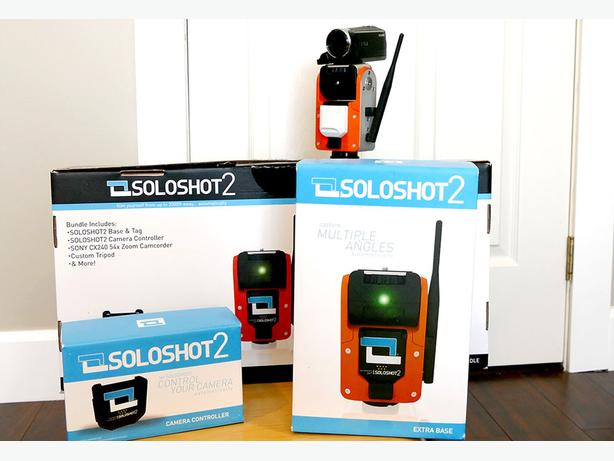 Complete SOLOSHOT2 Robotic Camera Man Kit for sale with 2 Sony Camcorders