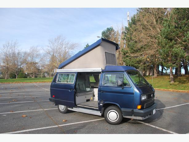 1991 blue volkswagen westfalia camper van oak bay victoria for Garage volkswagen flers