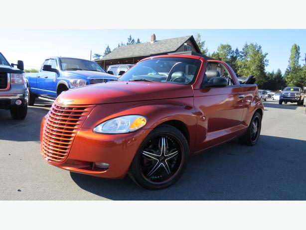 2005 chrysler pt cruiser turbo gt convertible outside victoria victoria. Black Bedroom Furniture Sets. Home Design Ideas