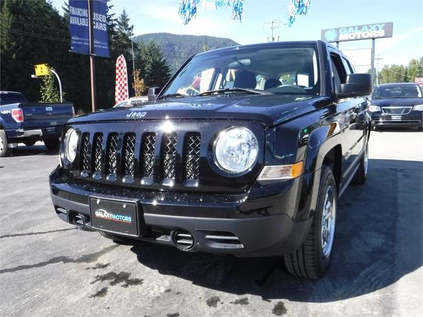 2016 Jeep Patriot Sport - 5 Spd Manual, Alloy Wheels