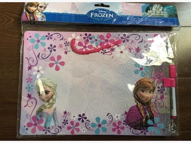 Disney frozen dry erase message board
