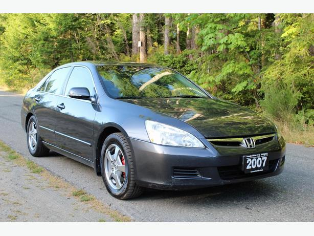 2007 honda accord hybrid one owner locally owned new hybrid battery campbell river. Black Bedroom Furniture Sets. Home Design Ideas
