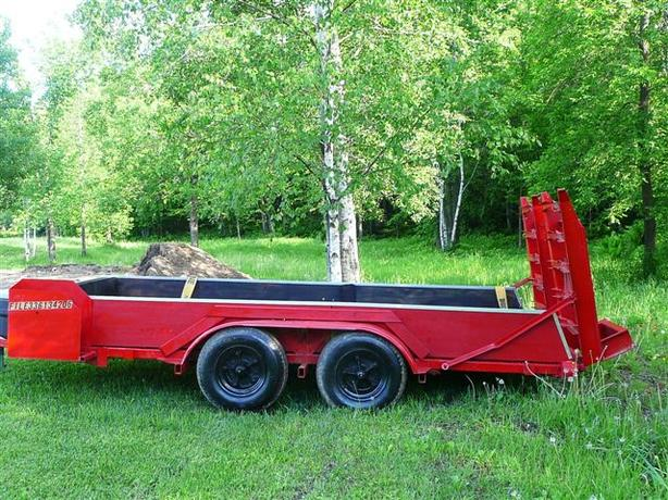 Double Heavy Axle Trailer