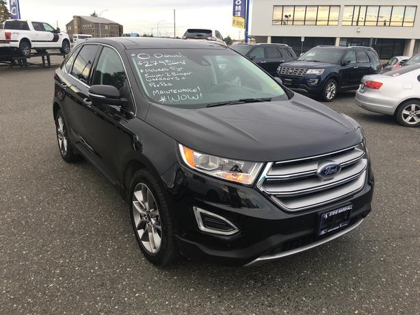 2015 Ford Edge Titanium - Low Kms - Maintenance and Warranty Included!
