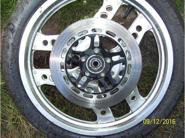 Honda CX650E CX650 turbo brake disc brake rotor