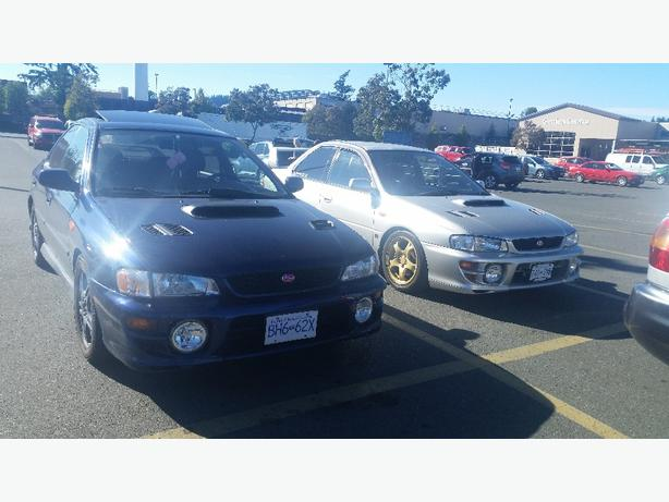 2000 subaru impreza rs 5500 obo sooke victoria. Black Bedroom Furniture Sets. Home Design Ideas