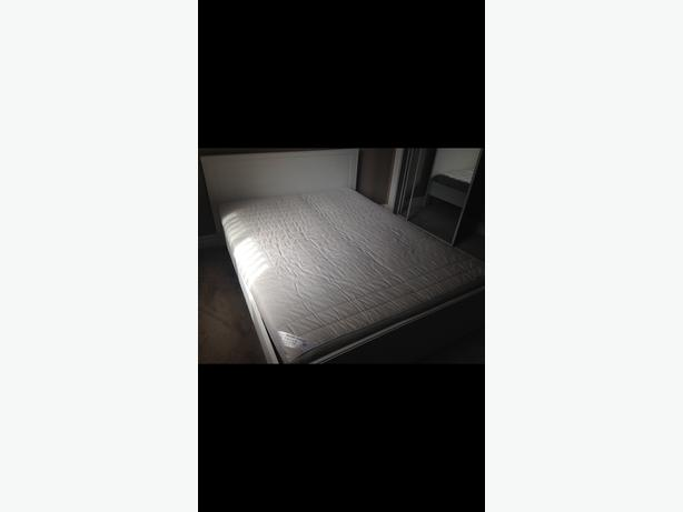 NEW BED FRAME AND MATTRESS FROM IKEA