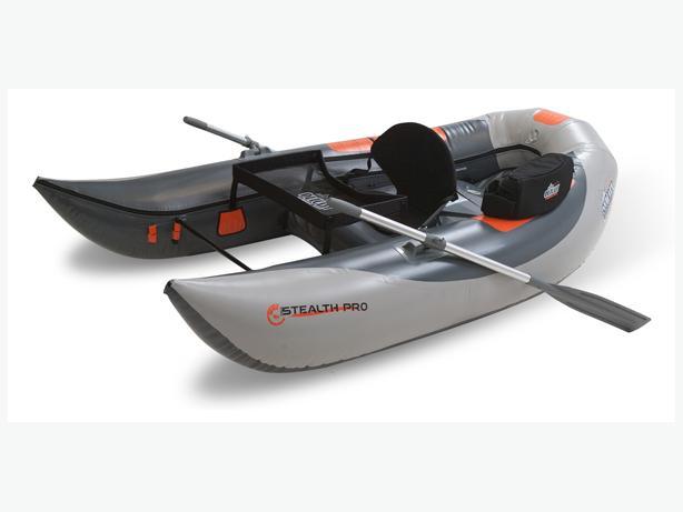 Outcast Stealth Pro frameless ponton boat