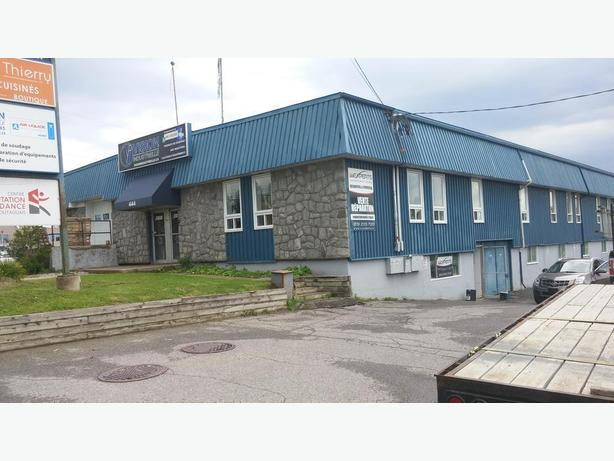 5000 sq. ft of Office/Commercial Space St. Rene E. Gatineau Immediately