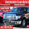 2012 Ford F-150 Lariat 4x4-AC SEATS-LEATHER-SROOF-B.UP CAM.