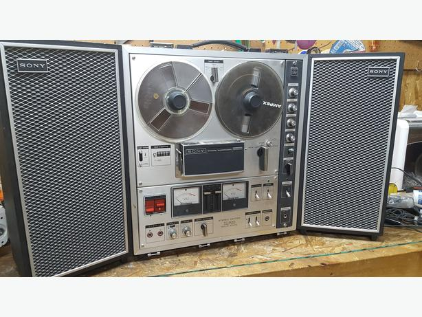 SONY REEL TO REEL MODEL TC-630