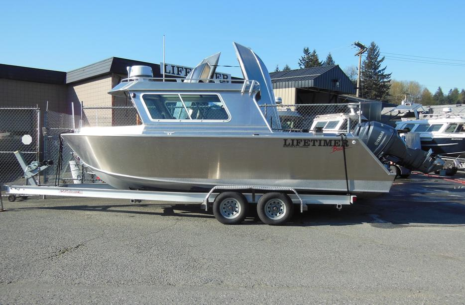 Lifetimer aluminum boats outside seattle area seattle for Used fishing boats for sale near me