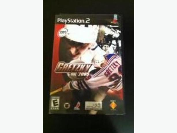 PlayStation 2 Gretzky NHL 2005