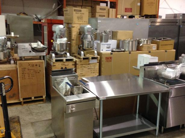 Huge Live & Online Restaurant Equipment Auction