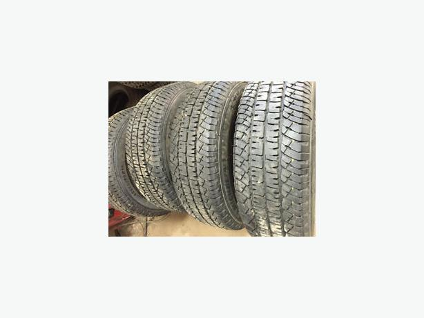 LT 275 70 r18 SET OF 4 MICHELIN LTX AT2 LOAD RANGE E TRUCK TIRES $300
