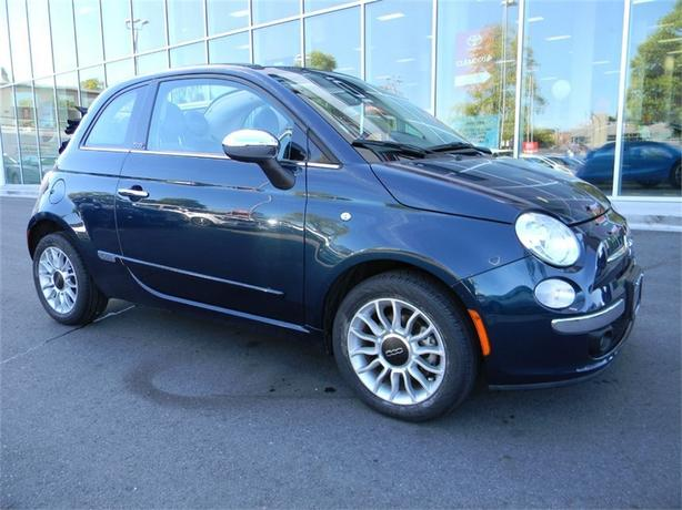 2013 FIAT 500c Lounge Convertible ONE OWNER LOCAL B.C.