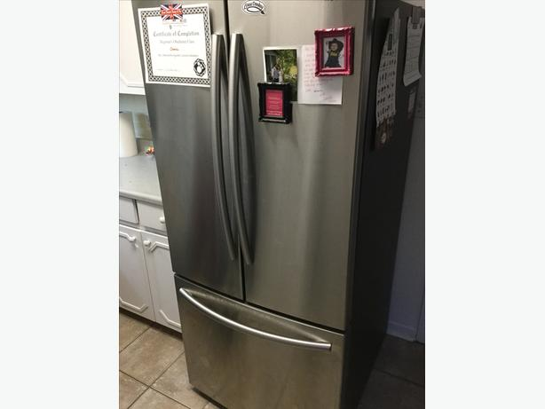 Samsung fridge and stove
