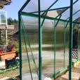 Brand New Aluminum Polycarbonate Greenhouse.