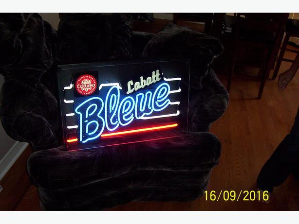 Original Labatt's Blue Neon sign