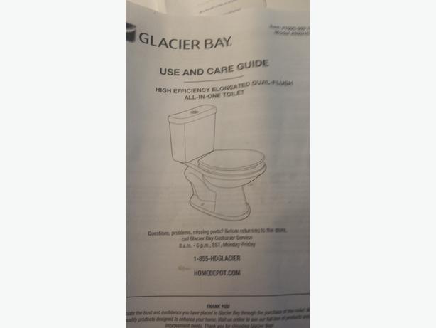 Glacier bay toilet