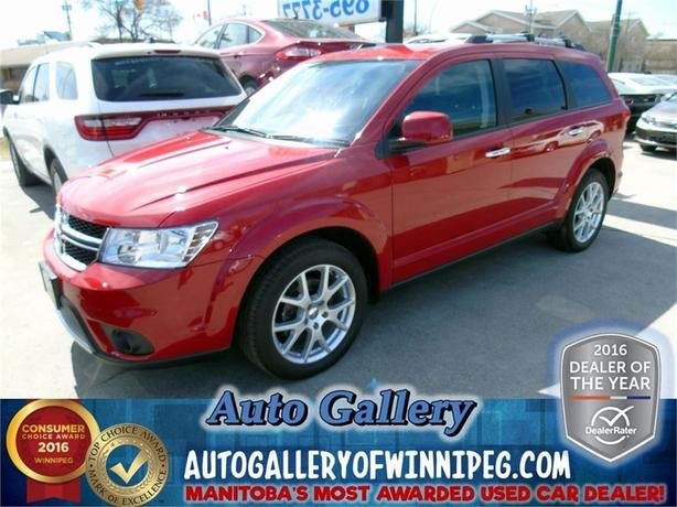 2015 Dodge Journey R/T AWD *Lthr/7 pass